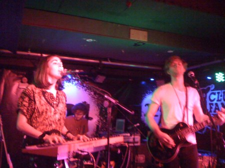 Chairlift, 229 Club, London, Nov 08 by musicmule
