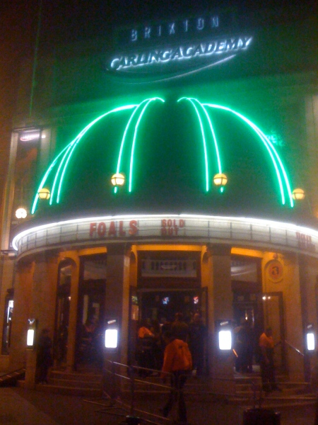 Foals Sell out Show at Brixton Academy, Oct 08
