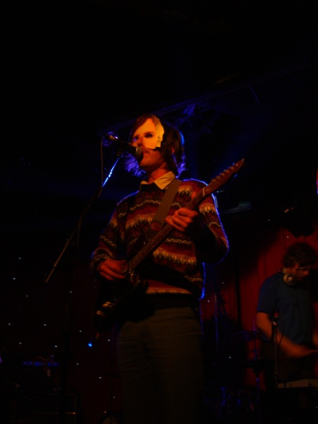 Wave Machines @ Madame Jojo's, Feb 18th 09 by musicmule.co.uk