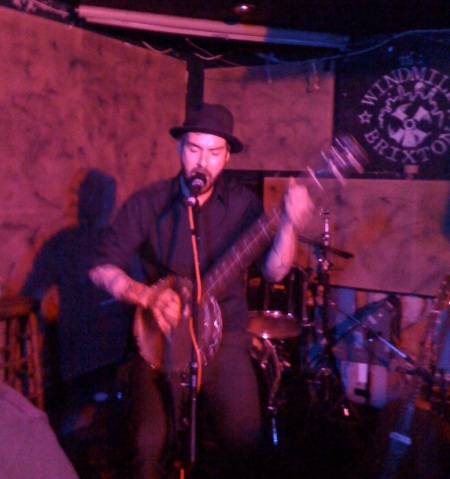 William Elliot Whitmore @ The Windmill, Brixton. April 13th 09 by musicmule.co.uk